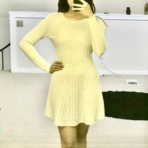 Hollister XS White Dress Pumpkin Fall Outfit